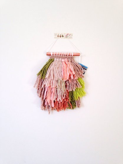 Woven wall hangings from Sarah Harste Weavings