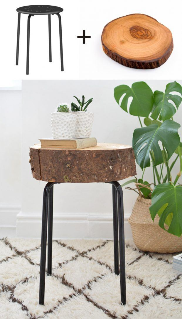 taburete-ikeahack-tronco-DIY-muy-ingenioso-1-620x1082