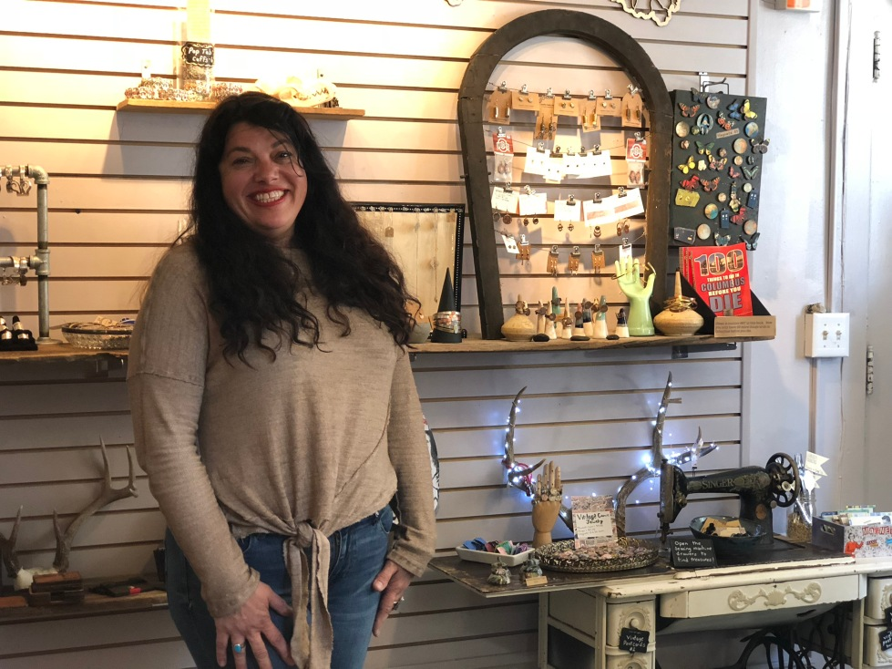 Glean Columbus dawn mccombs craft outlaws shop feature short north shop recycled repurposed jewelry, gifts, and bath & body products