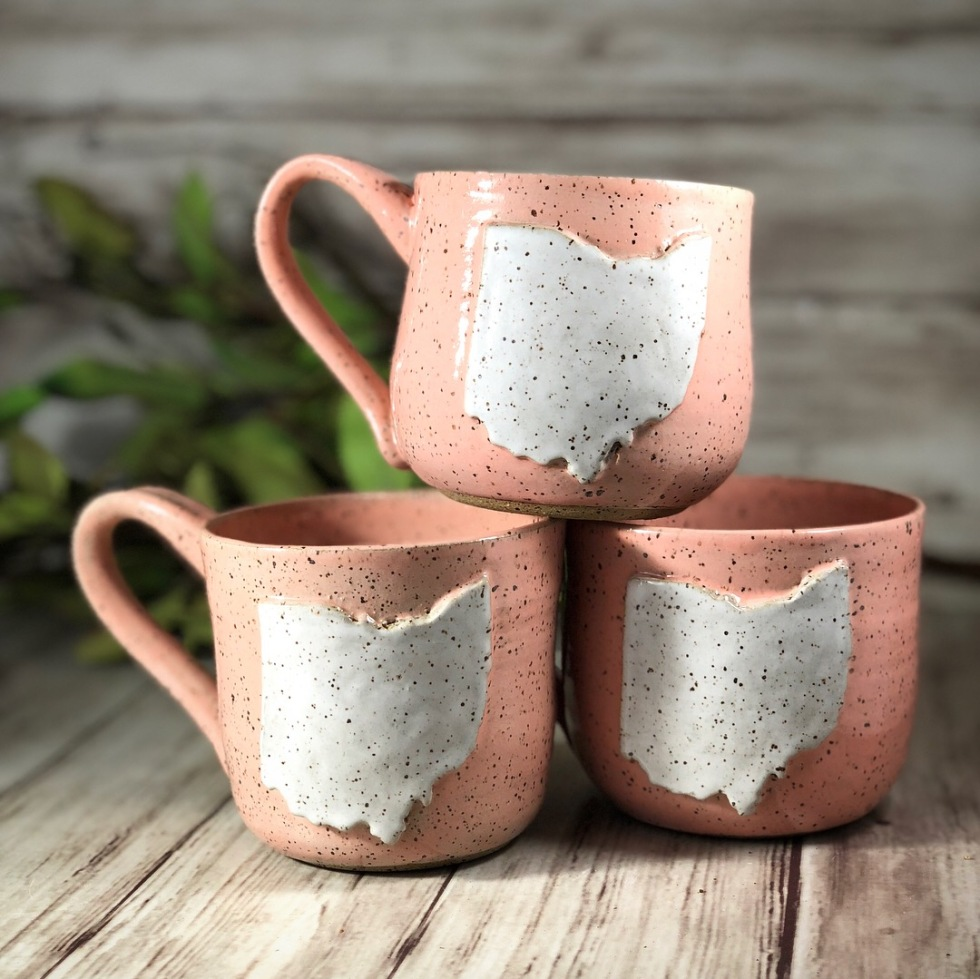 Ice and dust pottery