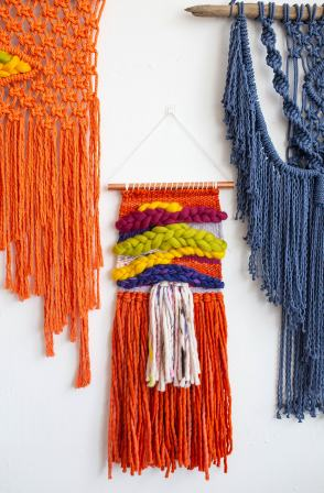 Sarah Harste Weaving offers up dazzling woven pieces and classes for those who want to DIY their way into a new skill.
