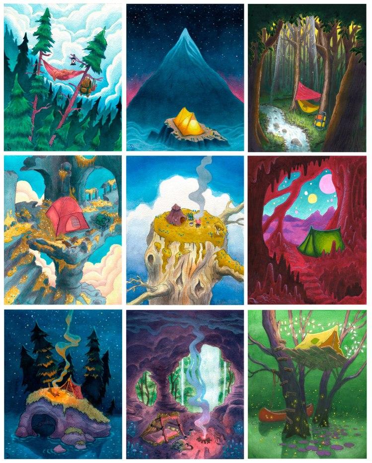 Sam Brieck - Brieck Draw Camping-Collection-fullseries